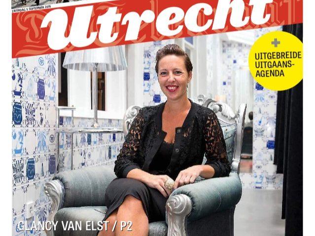 Glancy van Elst Telegraaf
