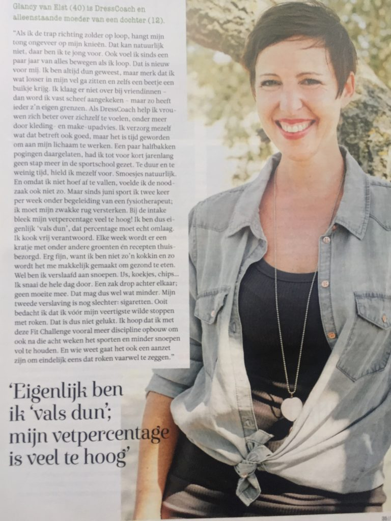 Glancy in Margriet
