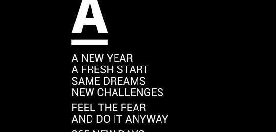 Glancy's nieuwe jaar
